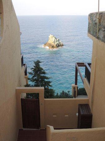 Sea Side Resort & Spa: נוף לים