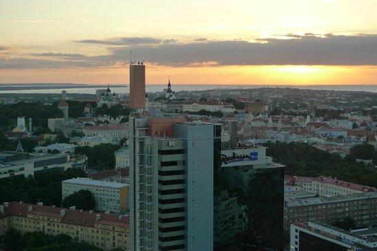 Tallinn Old Town: Dawn in Tallinn, Aug 2010