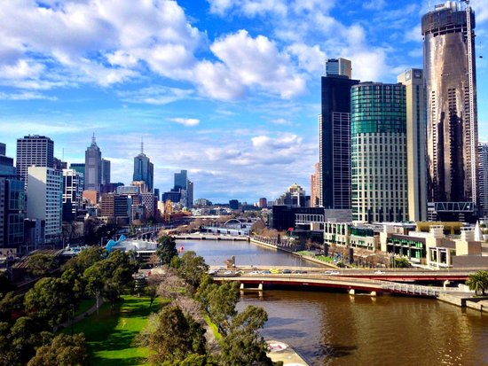 Crowne Plaza Melbourne: View from Room