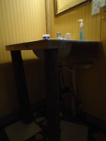 Shore Acres Lodge : bathroom sink