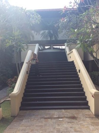 The Royal Beach Seminyak Bali - MGallery Collection: stairway to heaven