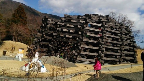 The Hakone Open-Air Museum: outside museum