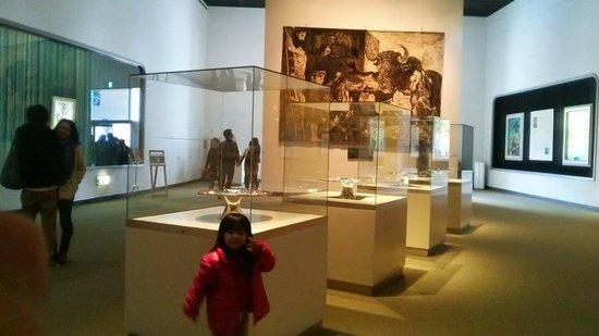 The Hakone Open-Air Museum: inside museum