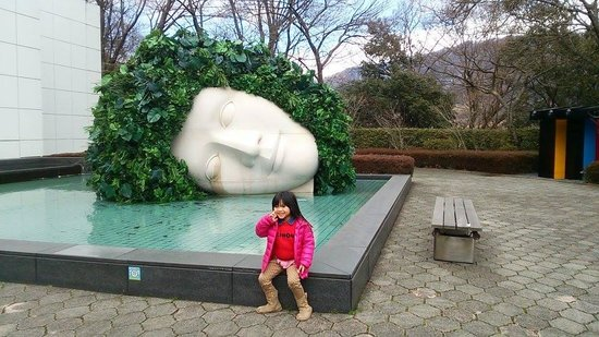 The Hakone Open-Air Museum: i like this
