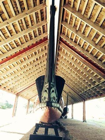 Waitangi Treaty Grounds: waka