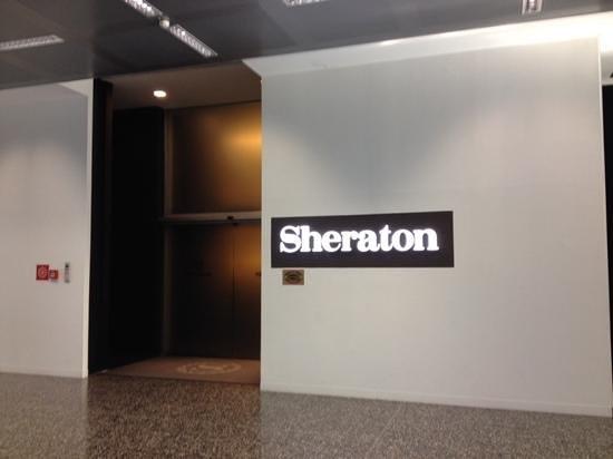 Sheraton Milan Malpensa Airport Hotel & Conference Centre : Entry