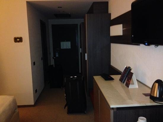 Sheraton Milan Malpensa Airport Hotel & Conference Centre : Room entryway