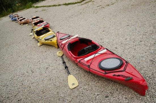 Kayak Chicago: All lined up.
