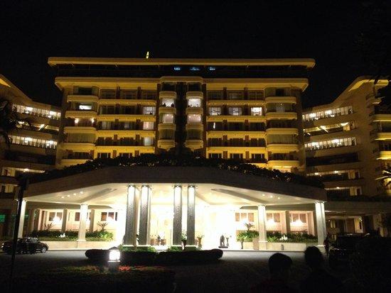 Taj Samudra Colombo: Night view