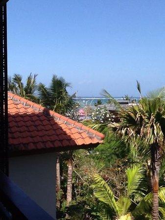Fairmont Sanur Beach Bali: view from oceanview room