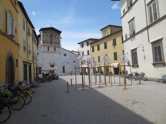 Basilica of San Frediano : june 2014