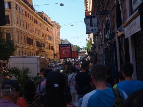 Vatikanische Museen (Musei Vaticani): crowds