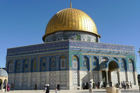 Tempelberg: Dome of the Rock, Dec 2010