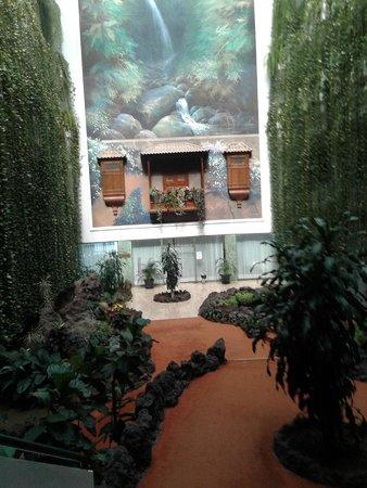 H10 Taburiente Playa: Bonito y espectacular patio interior