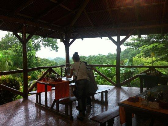 Hotel Cerro Lodge: Restaurantbereich