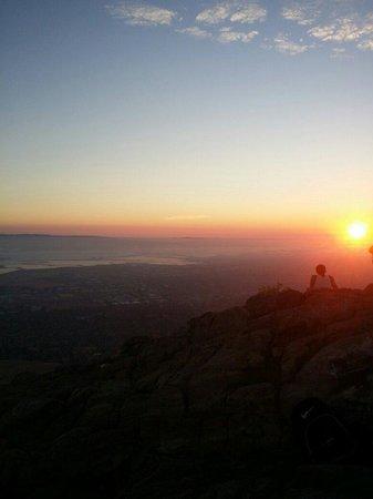 Mission Peak Regional Preserve: At 820 pm