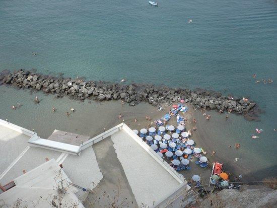 Ristorante Giosue' a Mare: vista da sopra ristorante albergo