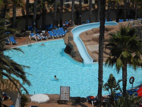 Playasol Spa Hotel: El tobogán descubierto