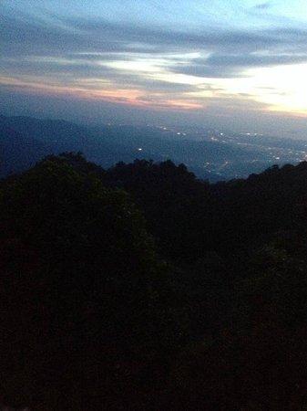 Kasih Sayang Health Resort: City view nightfall