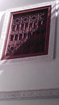 Riad Dar Beldia : Fenster im Hotel