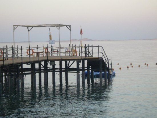 Xperience Sea Breeze Resort: The jetty - on the day we arrived