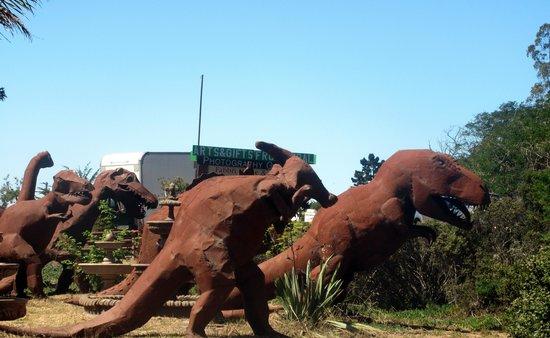 Dinosaurs of Spanish Town, Half Moon Bay, Ca