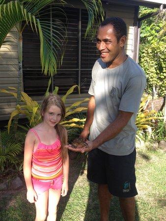 Nanuya Island Resort: Jessica and Phyllamony, her dear friend