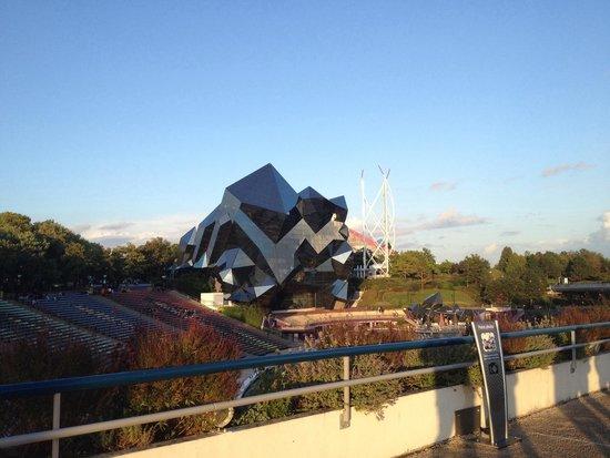 Futuroscope : Vue de la passerelle