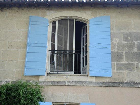 Mas Petit Fourchon : our room's window