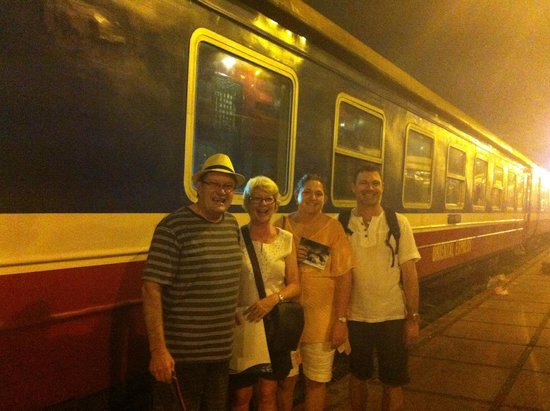 Travel Sense Asia - Private Day Tours: Leaving on the train to Sapa