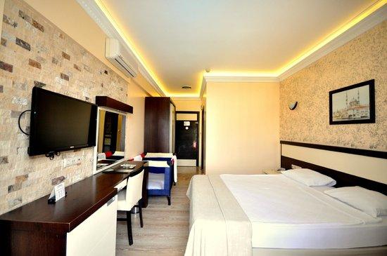 Camyuva Beach Hotel : New Standart Double Room +baby bed  20m2
