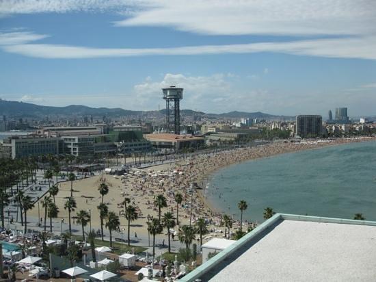 W Barcelona : Stunning view