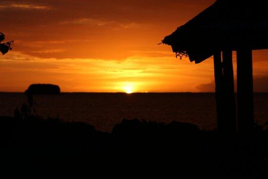 The Savaiian Hotel: Sunrise