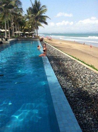 The Legian Bali : bottom pool-1 of 3