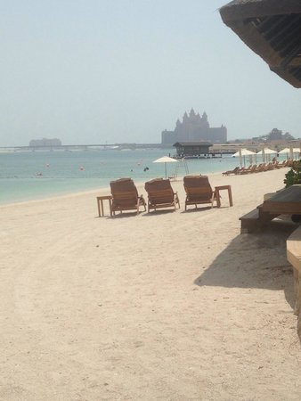 Sofitel Dubai The Palm Resort & Spa : Beach