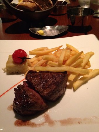 Sofitel Dubai The Palm Resort & Spa : Steakhouse!! Gorgeous food