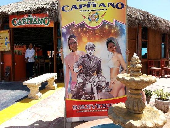 El Capitano: Para la foto del recuerdo