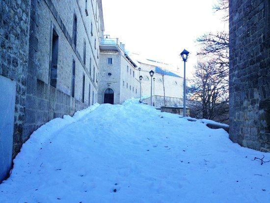 Hotel Il Forno Antico : Il monte Gelebison a Capodanno