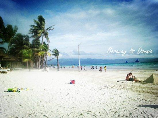 White Beach: white sand beach