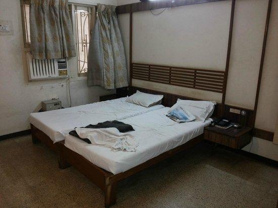 Prem Nivas Hotel: Old & Dirty WIndow Shades