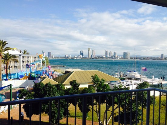 Sea World Resort: View from our room