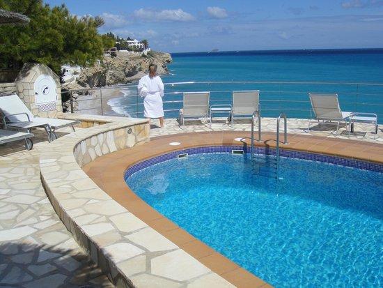 Hotel Servigroup Montiboli : Il y a aussi une plage privée accessible par lift