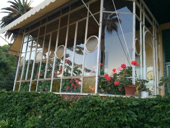 Villa Olimpo B&B: вид на террасу