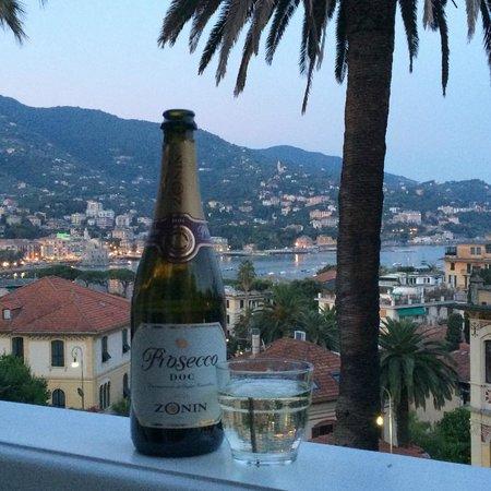 Villa Olimpo B&B: вид с балкона