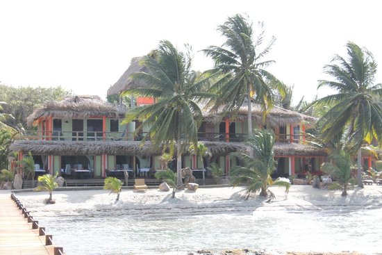 Robert's Grove Beach Resort : Resort from Dock