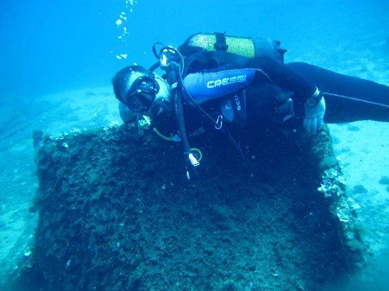 Skiathos Diving Center : Vera Wreck Skiathos