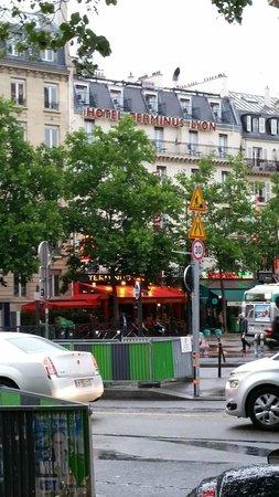 Hotel Terminus Lyon: Hotel view
