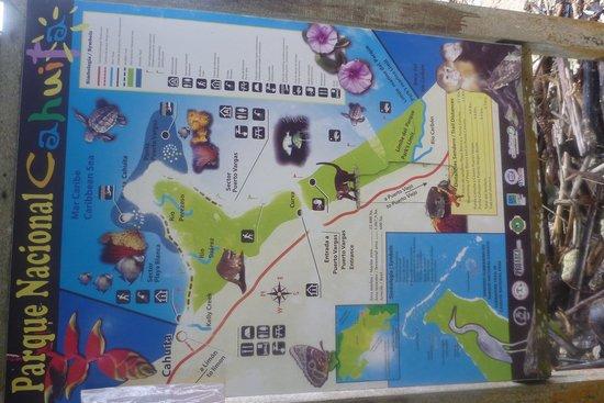 Cahuita National Park: Route shield
