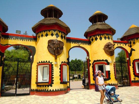 Friguia Park: Entrance
