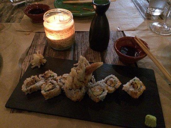 KOI Puerto de Andratx: sushi de cangrejo blanco
